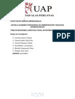 TOMA DE DECISIONES LOGISTICAS A NIVEL DE DISTRIBUCION finalyty para imprimir.docx