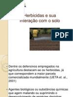 Herbicidas e Sua Interação Com o Solo
