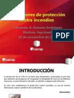 CPD, Protección Contra Incendios