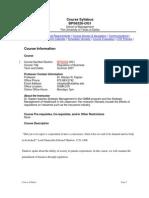 UT Dallas Syllabus for bps6320.0g1.07u taught by Marilyn Kaplan (mkaplan)