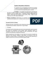Actuadores Neumáticos Giratorios