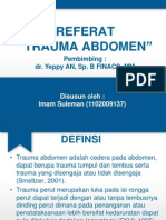 REF IMAM (Trauma Abdomen)