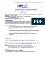 UT Dallas Syllabus for pa5318.0i1.07u taught by Wendy Hassett (wxh045000)