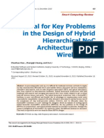 A Tutorial for Key Problems in the Design of Hybrid Hierarchical NoC Architectures With WirelessRF