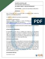 Guia - Rubrica Trabajo Colaborativo 1 2014 II 2 Calculo Diferencial