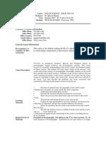 UT Dallas Syllabus for geos5302.521.07u taught by Ignacio Pujana (pujana)