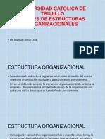 Clases de Estructuras Organizacionales