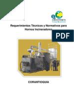 Protocolo Requerimientos Técnicos y Normativos Para Hornos Incineradores
