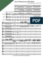 Telemann Chalumeaux Concerto