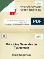 Programa de Toxicología