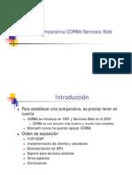 Corba vs Webservice