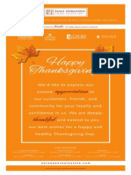 Happy Thanksgiving from Dale Sorensen Real Estate