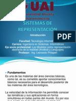 Sistemas de Representación 2012 Intro