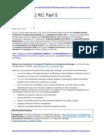 SCCM 2012 RC Part 5 - Enable Endpoint Protection