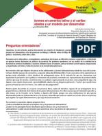 Situaciones de Los Jovenes en America Latina y El Caribe-tendencias Oportunidades y Un Modelo Por Desarrollar