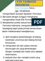KODE ETIK FARMASIS INDONESIA.ppt
