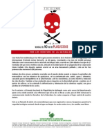 Afiche Día Sin Plaguicidas Definitivo