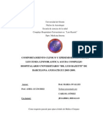 leucemia linfoblastica