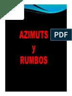 Azimut y Rumbo