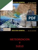 Meteorizacion y suelo