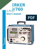 Sverker 750/760 User's Manual