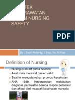 Praktek Keperawatan Dalam Nursing Safety FREE