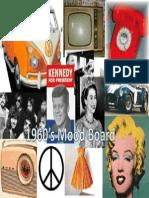 1960's Mood Board