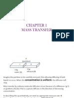 Chap 1 Mass Transfer