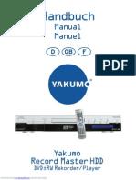 Yakumo-dvd Rw Recorder Copy
