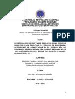 Tesis Docencia Informatica - Melissa Enriquez Avecillas