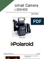 Manual Polaroid Mini Portrait 203 403