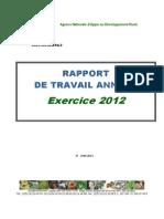RAPPORT DE TRAVAIL ANNUEL Exercice 2012.pdf