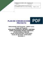 Plan de Comunicaciones v.1.0 18-04-2013