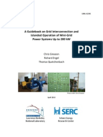 A Guidebook for Minigrids-serc Lbnl March 2013