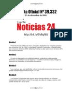 Gaceta Oficial 39.332