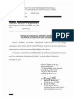 Notice of Voluntary Dismissal and Discharge of Lis Pendens