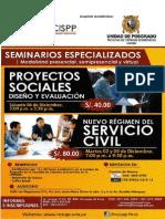 Proyectos Sociales. Diseño y Evaluación