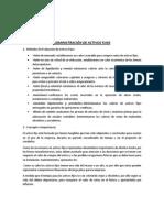 Administración de Activos Fijos y Valor Presente en el Tiempo (VPN)