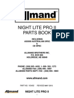 Nl Pro II Parts Manual - All Ld and v Models