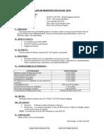 Plan de Municipio Escolar 2010