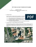 Rehabilitacion y Recalce de Edificio de Viviendas en Madrid