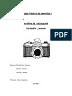 Trabajo Práctico Semiótica 1 - 2014