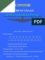 Perencanaan Jembatan Rangka Batang Baja ( Tugas )