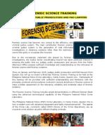 Forensics Training Teaser