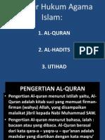 Sumber Hukum Islam untuk universitas