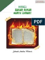 Debate; Apakah Quran Wahyu Tuhan