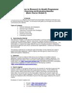 HINARI Basic Course Module 2 Workbook 2014 07
