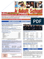 Burbank Adult School Spring 2015 Course Catalog
