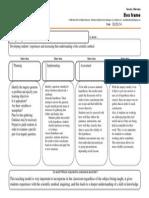 graphic organizer inquiry