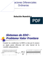EDO Diferencias Finitas2014-II